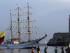 El buque escuela Guayas, de la Armada de Ecuador, en visita oficial a La Habana (Cuba). EFE/Alejandro Ernesto