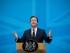 El primer ministro británico David Cameron da un discurso sobre inmigración en Londres, el jueves 21 de mayo de 2015. (Foto AP/Matt Dunham, Pool)