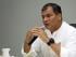 El presidente Rafael Correa mantuvo un conversatorio con medios de comunicación en Quevedo, provincia de Los Ríos, el 4 de mayo de 2015. Foto: Pablo Reinoso/Presidencia de la República.