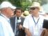 El expresidente de El Salvador Alfredo Cristiani, de las filas del derechista partido Arena, en la beatificación de Monseñor Romero.