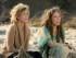 """Jane Fonda, izquierda, y Lily Tomlin en la serie original de Netflix """"Grace and Frankie"""" que se estrena el viernes 8 de mayo de 2015. (Melissa Moseley/Netflix via AP)"""