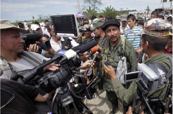 Jairo Martínez en una rueda de prensa.