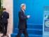El secretario norteamericano de Estado John Kerry llega a una conferencia de cancilleres de la OTAN en Antalya, Turquía, el miércoles 13 de mayo de 2015. (Joshua Roberts/Pool Photo via AP)