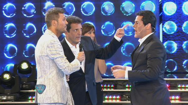 Sergio Massa en Showmatch. Foto: Showmatch