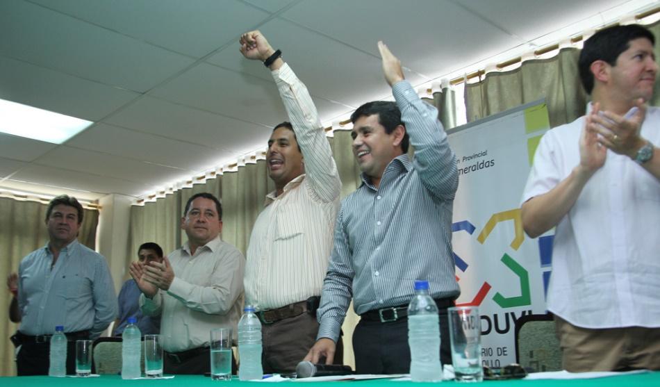 La posesión de Miguel Salvatierra Barberán como gerente de EAPA, el 24 de mayo de 2011, publicada en la web del Ministerio de Desarrollo Urbano y Vivienda.