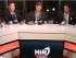 Captura de pantalla del programa Minuto Cero, la noche del 11 de mayo de 2015. Entrevista a  José Francisco Cevallos.