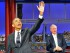 """En esta imagen proporcionada por CBS, el presidente de Estados Unidos, Barack Obama, junto al presentador David Letterman en la grabación del programa """"Late Show with David Letterman"""". (John Filo/CBS via AP)"""