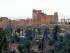 Foto difundida el 17 de mayo de 2015 por la agencia de noticias siria SANA, donde se aprecia la antigua ciudad de Palmyra, en el norte de Damasco, Siria. (SANA vía AP)