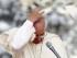 El papa Francisco durante su tradicional audiencia general de los miércoles en la Plaza de San Pedro del Vaticano, en la Ciudad del Vaticano. EFE/Fabio Frustaci