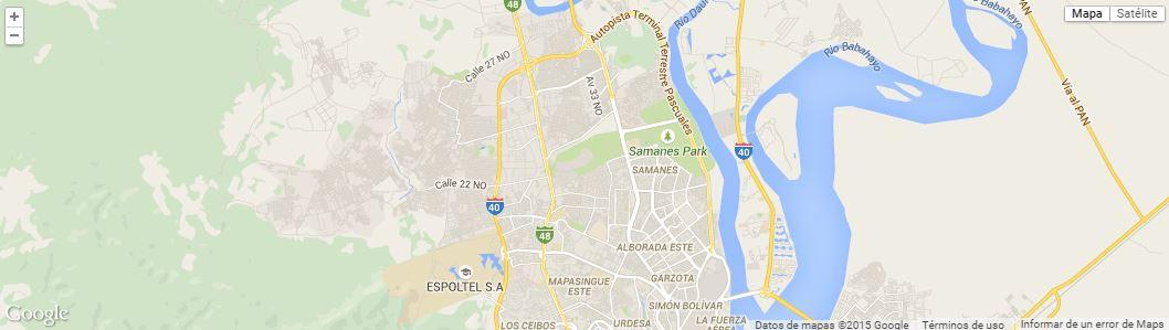 Parque Samanes, según Google Maps.