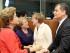 Bruselas (Bélgica), 10 jun 2015.- El Presidente de la República, Rafael Correa, asistió a la inauguración de la Cumbre UE - Celac como Presidente pro témpore de la Comunidad de Estados Latinoamericanos y Caribeños; saludó con importantes Jefes de Estado de la Unión Europea y con otros de América Latina, como Evo Morales, de Bolivia. Foto: Eduardo Santillán / Presidencia de la República.