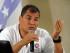 El Presidente de la República, Rafael Correa, mantuvo un conversatorio con medios de comunicación de la ciudad de Guayaquil. Foto: Carlos Silva / Presidencia de la República