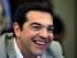 Primer ministro griego Alexos Tsipras preside una reunión en el ministerio de Educación en Atenas, Grecia, martes 2 de junio de 2015. Tsipras dijo que Grecia presentó una propuesta de acuerdo a sus acreedores. (AP Foto/Thanassis Stavrakis)