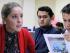 Foto de la audiencia contra Diario El Universo, tomada de la página web de la Supercom.