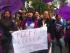 Mujeres se manifestaron en contra de Correa en la Plaza Grande. Foto del portal de Facebook 'Patriota Ecuador'.