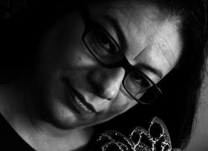 María Belén Moncayo, artista y activista quiteña.