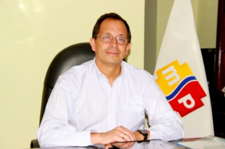 David Acurio, viceministro de Salud. Foto del Ministerio de Salud Pública.