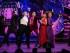 """Vanessa Hudgens, segunda de la derecha, Victoria Clark, a la derecha, y el elenco de """"Gigi"""" actúan en la ceremonia de los Premios Tony, en el Radio City Music Hall, el domingo 7 de junio del 2015 en Nueva York. (Foto por Charles Sykes/Invision/AP)"""