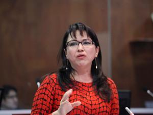 Gina Godoy. Foto: Asamblea Nacional