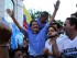 El líder del movimiento CREO, Guillermo Lasso, el 19 de junio de 2015, en Guayaquil.