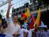 Marcha convocada por Guillermo Lasso Foto:API