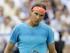 Foto de archivo. Rafael Nadal durante el partido contra Alexandr Dolgopolov en el torneo de Queen's en Londres, el martes 16 de junio de 2015. (AP Foto/Tim Ireland).