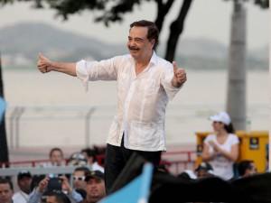 El alcalde de Guayaquil, Jaime Nebot, el 25 de  junio de 2015. API