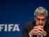 El jefe de comunicaciones de la FIFA, Walter De Gregorio, habla en una conferencia de prensa el miércoles, 27 de mayo de 2015, en Zurich, Suiza. (Ennio Leanza/Keystone via AP)