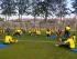 La selección de Ecuador entrena en el complejo de Colo Colo en Santiago de Chile. Foto tomada de la cuenta de Twitter oficial de la FEF (@FEFecuador).