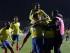 Foto de archivo.  El jugador de Ecuador, Enner Valencia, segundo desde la derecha, festeja un gol contra México en la Copa América el viernes, 19 de junio de 2015, en Rancagua, Chile. (AP Photo/Ricardo Mazalan).