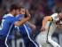 COLONIA (ALEMANIA), 10/6/2015.- Lukas Podolski (d) de Alemania disputa el balón con Kyle Beckermann (c) de EE.UU. hoy, miércoles 10 de junio de 2015, durante su partido amistoso internacional en Colonia (Alemania). EFE/Federico Gambarini