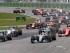 El piloto de la escudería Mercedes Lewis Hamilton (44) (centro) encabeza a los autos que compiten en el Gran Premio de Canadá que se corrió el domingo 7 de junio de 2015 en Montreal. (Ryan Remiorz/The Canadian Press via AP) Crédito obligatorio