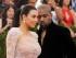 En esta imagen de archivo del 4 de mayo de 2015, Kim Kardashian, a la izquierda, y Kanye West llegan a la gala del Instituto del Traje del Museo Metropolitano de Nueva York. (Foto de Charles Sykes/Invision/AP, Archivo)
