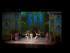 """El bailarín Ivan Negrobov, centro, con miembros de la compañía Moscow Ballet Theatre interpretan """"El lago de los cisnes"""" en la Ciudad de México el miércoles 3 de junio de 2015. La compañía termina su gira por México con su montaje hecho con pantallas con proyecciones en 3D. (Foto AP/Rebecca Blackwell)"""