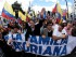 Marcha de Guillermo Lasso, en Quito. Foto: API/Archivo