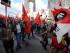 Manifestaciones encabezadas por el Frente Unitario de Trabajadores en contra de las políticas gubernamentales el miércoles 24 de junio de 2015. Foto: API