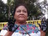 Rigoberta Menchú en el pozo Aguarico 4. Foto difundida por la Cancillería de Ecuador