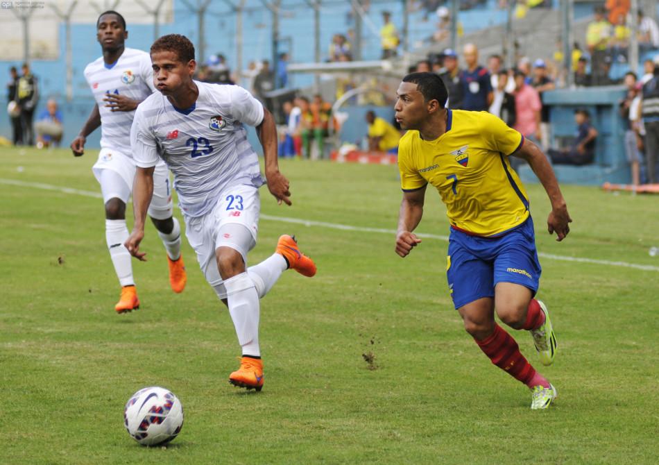 Guayaquil 6 de Junio del 2015. Ecuador vs Panamá. Fotos: Marcos Pin / API