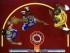 Los jugadores de los Warriors de Golden State Stephen Curry, izquierda, y Harrison Barnes, centro, buscan un rebote ante LeBron James (23), de los Cavaliers de Cleveland, en la primera mitad del cuarto juego de la final de la NBA en Cleveland, el jueves 11 de junio de 2015. Los Warriors ganaron 103-82 para empatar la serie 2-2. (Ronald Martinez/Pool Photo via AP).