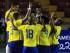 CIUDAD DE PANAMÁ (PANAMÁ), 03/06/2015.- Jugadores de Ecuador celebran después de anotar un gol hoy, miércoles 3 de junio de 2015, durante un partido amistoso entre Panamá y Ecuador, en Ciudad de Panamá (Panamá). La selección de fútbol de Panamá afina su estrategia para enfrentar la Copa Oro de la Concacaf, mientras Ecuador se prepara para la Copa América 2015. EFE/Alejandro Bolívar