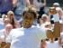 El español Rafael Nadal tras vencer al brasileño Thomaz Bellucci en la primera ronda del torneo de Wimbledon, el martes 30 de junio de 2015. (AP Foto/Kirsty Wigglesworth)