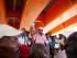 Cortadores de caña hatianos activos y retirados escuchan al líder Jesus Nunezen una protesta a una cuadra del ministerio del Interior para reclamar por sus pensiones y estatus de residentes legales en Santo Domingo, Repúbica Dominicana, el martes 16 de junio de 2015. Inmmigrantes haitianos esperan turno para registrar su residencia legal en el ministerio del Interior en Santo Domingo, República Dominicana, el martes 16 de junio de 2015. El gobierno dominicano se prepara para comenzar esta semana a repatriar inmigrantes que no se hayan registrado en un programa especial para legalizar su estatus, mientras miles de personas hacen largas filas para tratar de inscribirse. (AP Photo/Tatiana Fernandez)