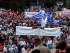 Miles de griegos protestan en la Plaza Syntagma, en Atenas, contra los planes de austeridad propuestos por Europa, el 21 de junio de 2015. EFE/EPA/SIMELA PANTZARTZI