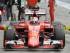 El piloto de Ferrari Sebastian Vettel llega a la zona de pits durante las prácticas para el Gran Premio de Austria el viernes 19 de junio de 2015. (Foto AP/Kerstin Joensson).