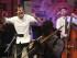 SAN SEBASTIÁN, 24/07/2015.- El artista británico Jamie Cullum (i) durante su actuación esta noche en la plaza de la Trinidad de la capital donostiarra, en el marco del 50 Festival de Jazz de San Sebastián. EFE/Juan Herrero
