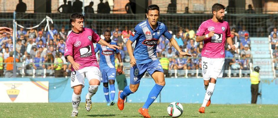 Emelec vs Independiente Foto:API