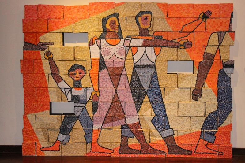 """""""Siglis"""", de Fabio Bajaña Constante."""