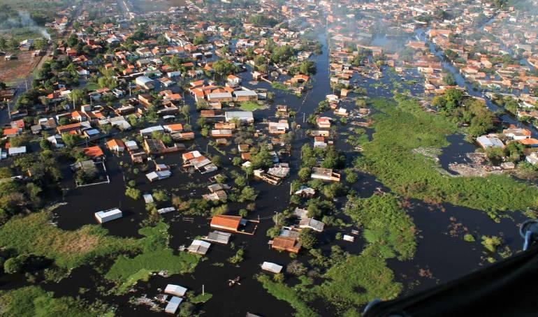 Bañados, en Asunción.
