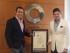 José Javier Guarderas, presidente de SAMBITO S.A y Julio Mackliff, Vicepresidente Ejecutivo de Banco Guayaquil.