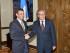 El Secretario General de la OEA, Luis Almagro, se reúne con el líder de la oposición venezolana, Henrique Capriles, el 27 de julio de 2015. Maria Patricia Leiva/OAS